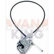 REAR DOOR LOCK CATCH & CABLE PASSENGER SIDE LH