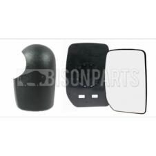 WING MIRROR GLASS & COVER DRIVER SIDE RH