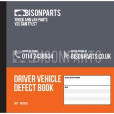 DUPLICATE VEHICLE DAILY CHECK & DEFECT BOOK (20 PAGES)