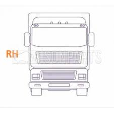 FRONT ANGLED ABS SPEED SENSOR DRIVER SIDE RH