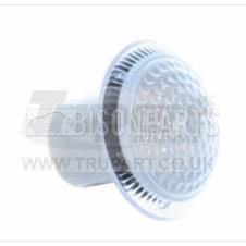 CLEAR SIDE REPEATER LAMP LENS & SEAL FITS RH OR LH