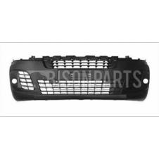 BLACK FRONT BUMPER WITH FOG LAMP HOLES