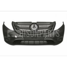 FRONT BUMPER W/O FOG LAMP HOLE WITH PARKING SENSOR HOLES