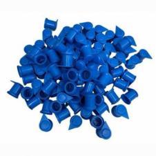 32MM LONG REACH DUSTITE WHEEL NUT COVERS BLUE (PKT 100)