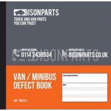 50 PAGE VAN & MINIBUS DAILY CHECK & DEFECT BOOK