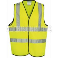 SMALL FLOURESCENT YELLOW HI VIS SAFETY VEST