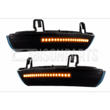 BLACK 28 LED MIRROR INDICATORS RH & LH (PAIR)