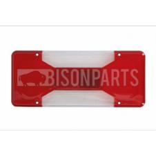 REAR TAIL LAMP LENS FITS RH OR LH