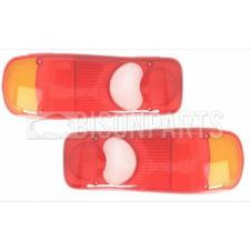 REAR COMBINATION LAMP LENS FITS RH & LH (PAIR)