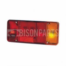 REAR TAIL LAMP LENS WITH FOG DRIVER SIDE RH
