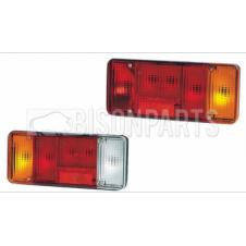 REAR TAIL LAMP LENS RH & LH (PAIR)