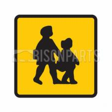 REAR MAGNETIC SCHOOL BUS MARKER SIGN