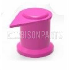 33MM LONG REACH DUSTITE WHEEL NUT COVERS PINK (PKT 60)