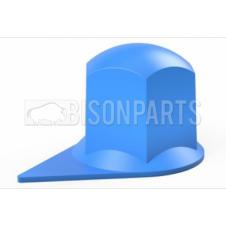 32MM DUSTITE WHEEL NUT COVERS BLUE (PKT 100)