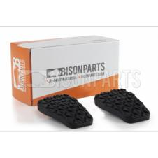 CLUTCH OR BRAKE PEDAL PAD RUBBERS (PAIR)