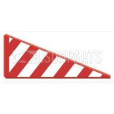 VINYL ABNORMAL LOAD SIDE PROJECTION MARKER BOARD PASSENGER SIDE LH