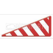 VINYL ABNORMAL LOAD SIDE PROJECTION MARKER BOARD DRIVER SIDE RH