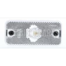 CLEAR SIDE MARKER LAMP FITS RH OR LH
