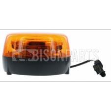 LED AMBER ROTATING BEACON 9-32V
