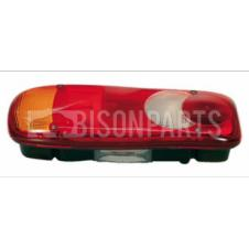 REAR COMBINATION LAMP WITH NUMBER PLATE LAMP PASSENGER SIDE LH