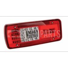 LED REAR COMBINATION LAMP WITH NUMBER PLATE LAMP PASSENGER SIDE LH
