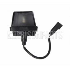 NUMBER PLATE LAMP & PLUG FITS RH OR LH