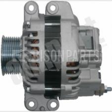 ALTERNATOR ASSEMBLY WITH 8 GROOVE PULLEY