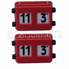 PLASTIC IMPERIAL HEIGHT INDICATOR (PAIR)