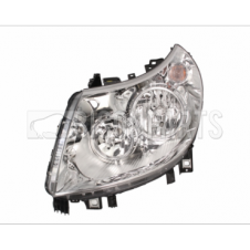 ELECTRIC HEADLAMP WITH MOTOR PASSENGER SIDE LH