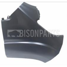 PRIMED FRONT WING PANEL WITHOUT MOUNTING HOLES DRIVER SIDE RH