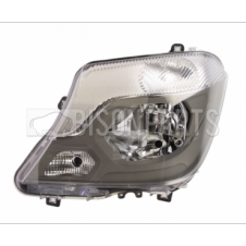 ELECTRIC HEADLAMP ASSEMBLY WITH MOTOR PASSENGER SIDE LH