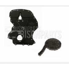 TIMING CHAIN COVER & TIMING CHAIN