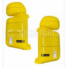 YELLOW SUPER STRONG MIRROR GUARD SET RH & LH (PAIR)