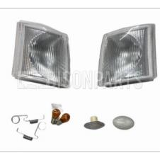 FRONT CLEAR INDICATORS & CLEAR SIDE REPEATER LAMPS RH & LH