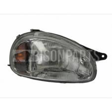 ELECTRIC HEADLAMP ASSEMBLY WITHOUT MOTOR DRIVER SIDE RH