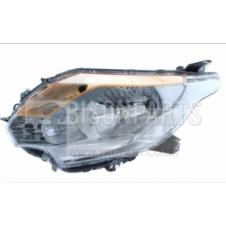 ELECTRIC / MANUAL HEADLAMP ASSEMBLY WITHOUT MOTOR PASSENGER SIDE LH