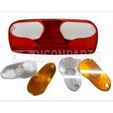 ECO-POINT 1 REAR COMBINATION LAMP LENS ONLY FITS RH OR LH