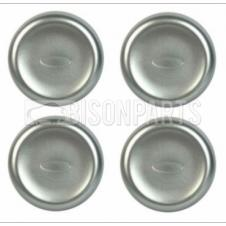 HUB CAP COVERS FITS RH OR LH (PKT 4)