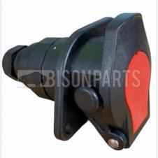 24V 7 PIN EBS SOCKET C/W SCREW TERMINALS