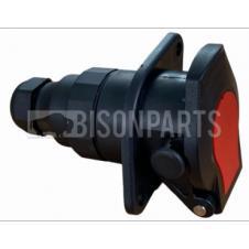 24V 15 PIN PLASTIC SOCKET C/W SCREW TERMINALS