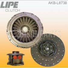 3 PIECE CLUTCH ASSEMBLY WITH CONCENTRIC SLAVE CYLINDER