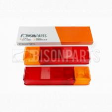 REAR COMBINATION LAMP LENS FITS RH OR LH (PAIR)
