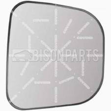 HEATED WIDE ANGLE MIRROR GLASS FITS RH OR LH