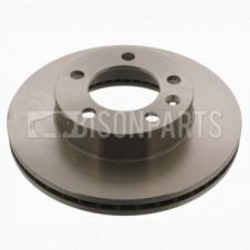 FRONT VENTED BRAKE DISC FITS RH OR LH