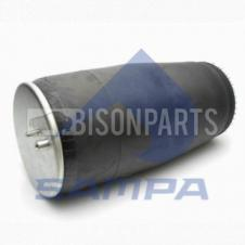 AIR SPRING ASSEMBLY WITHOUT PISTON