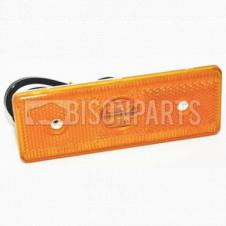 LED AMBER SIDE MARKER LAMP WITH CABLE FITS RH OR LH