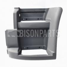 PRIMED LOWER STEP SURROUND W/O SIDE REPATER LAMP HOLE PASSENGER SIDE LH