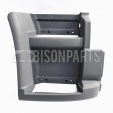 PRIMED LOWER STEP SURROUND W/O SIDE REPATER LAMP HOLE DRIVER SIDE RH