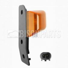 AMBER SIDE MARKER REPEATER LAMP DRIVER SIDE RH