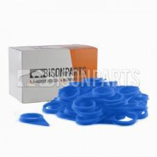 33MM WHEEL NUT INDICATOR BLUE (PKT 100)